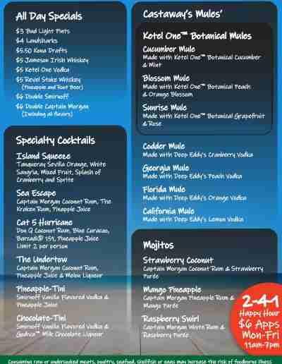 Castaways_Waterford_Lakes_DrinkMenu-S2