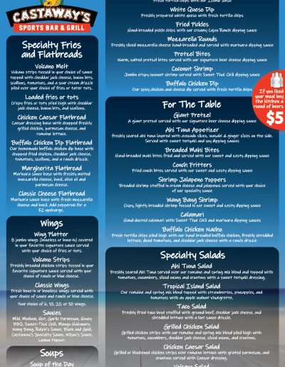 Castaways_Waterford_Lakes_FoodMenu-S1